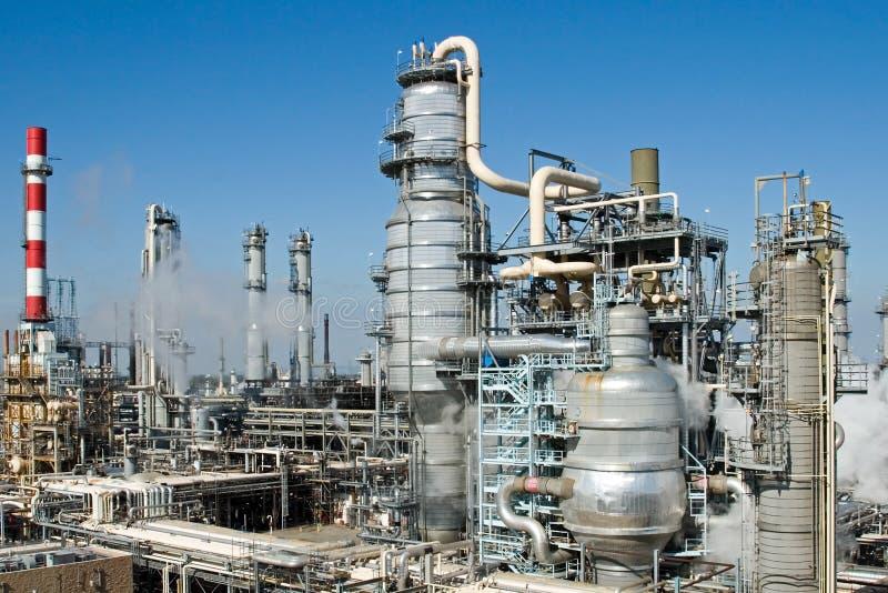 Raffinerie-Komplex lizenzfreies stockfoto