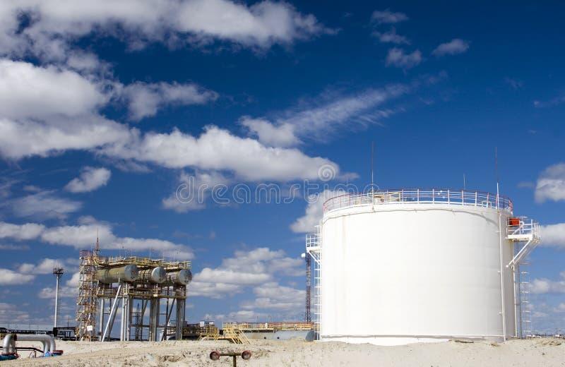 Raffinerieanlage lizenzfreies stockfoto