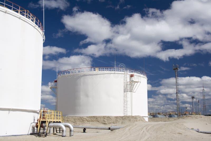 Raffinerieanlage lizenzfreies stockbild