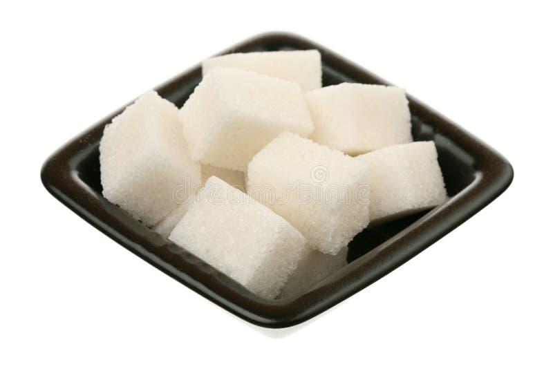 Raffinierter Zucker lizenzfreie stockfotografie