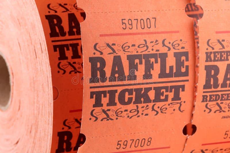 Raffle Ticket royalty free stock photos