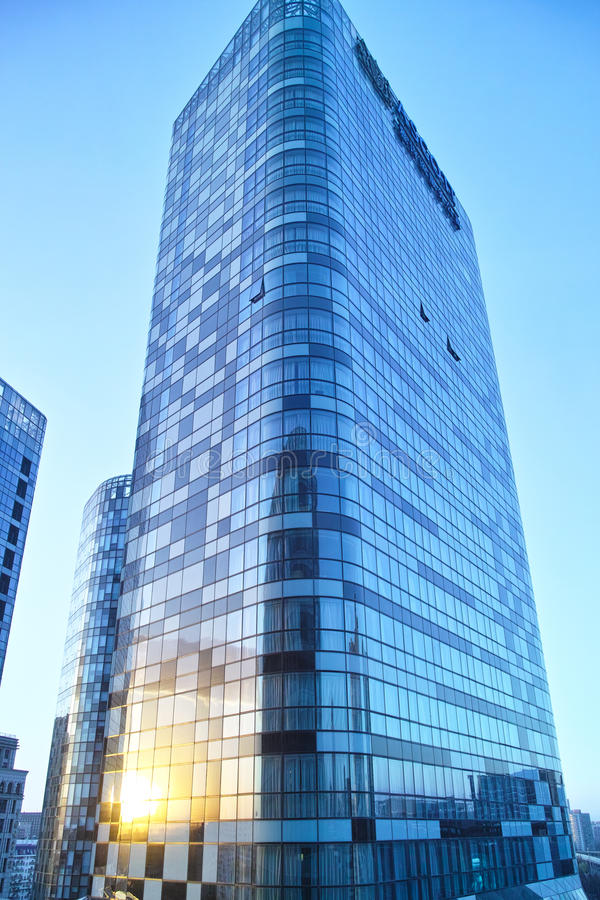Download Raffles Building Under The Sunset Stock Photo - Image of building, raffles: 30934196
