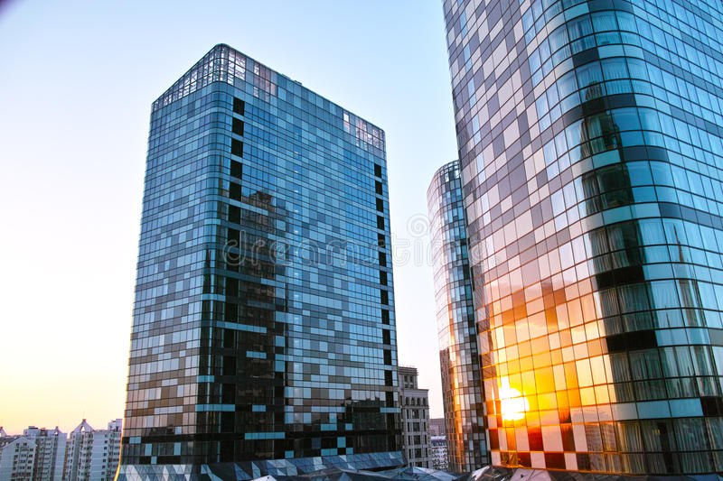 Download Raffles Building Under The Sunset Stock Photography - Image: 30934522