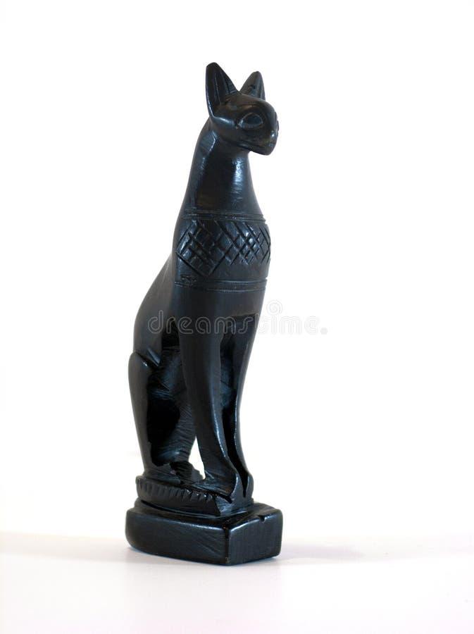 Rafia della dea del gatto egiziano fotografia stock libera da diritti