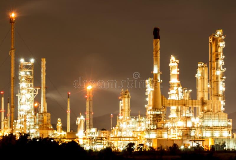 Rafineria Ropy Naftowej w dniu zdjęcia royalty free