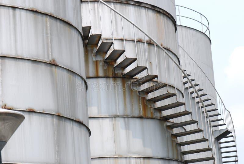 Rafinerii Roślina zdjęcie royalty free