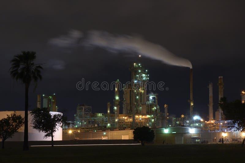 rafineryjny benzyny zdjęcie royalty free