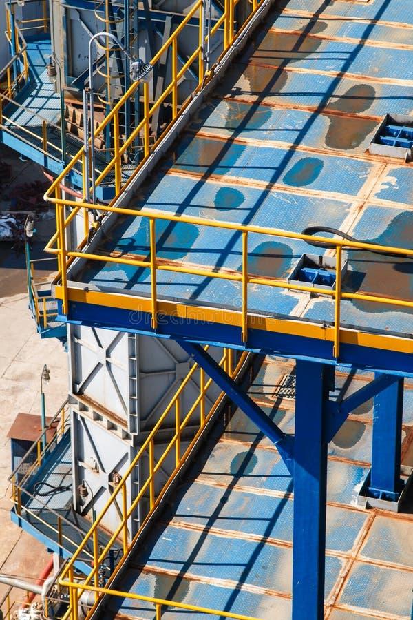 rafineryjny gazu ropy naftowej obraz stock