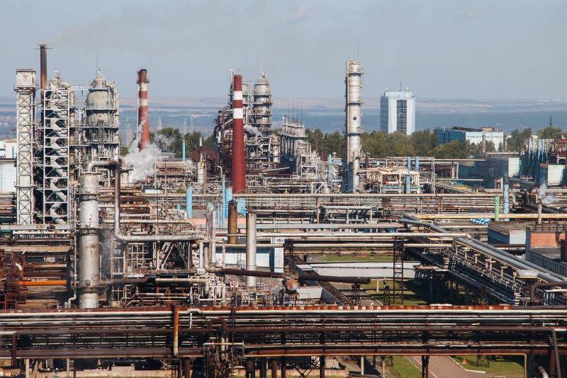 rafineryjny gazu ropy naftowej zdjęcie stock