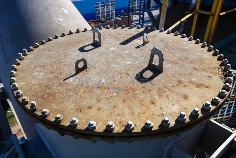rafineryjny gazu ropy naftowej obraz royalty free