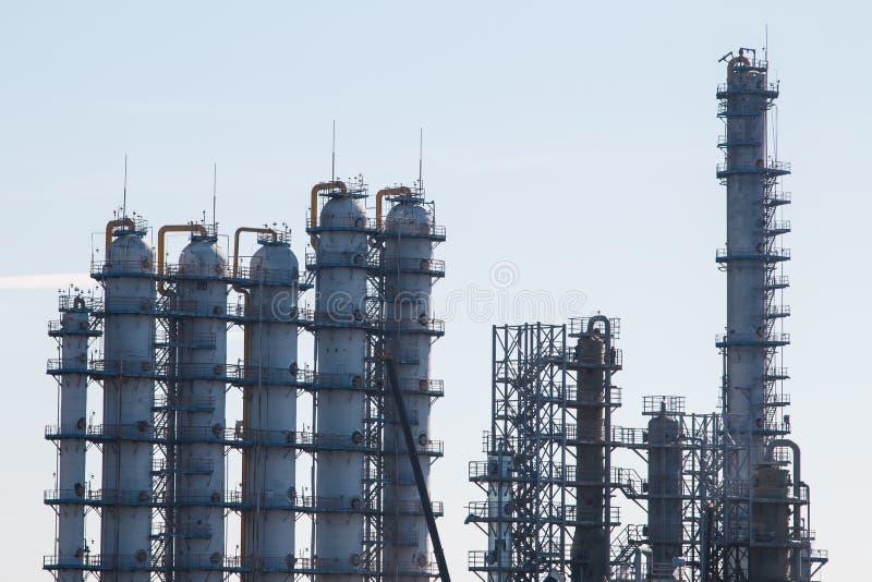 rafineryjny gazu ropy naftowej zdjęcia royalty free