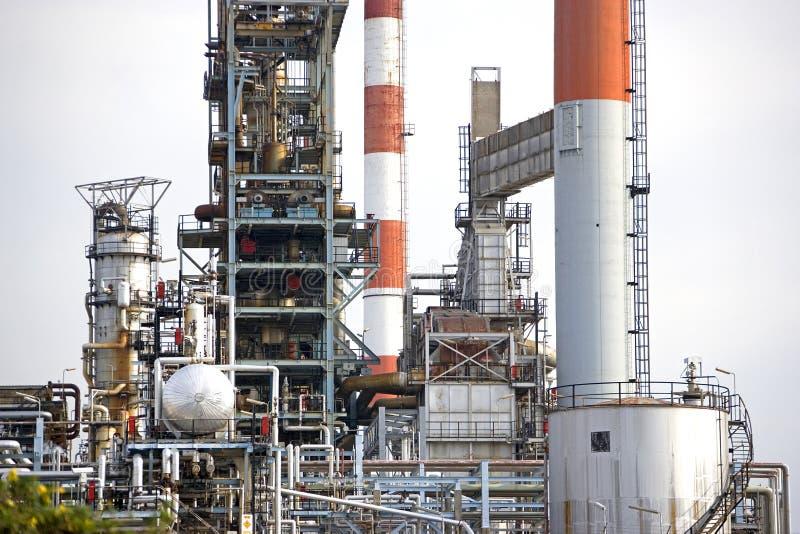 rafineryjny ropy naftowej zdjęcie stock