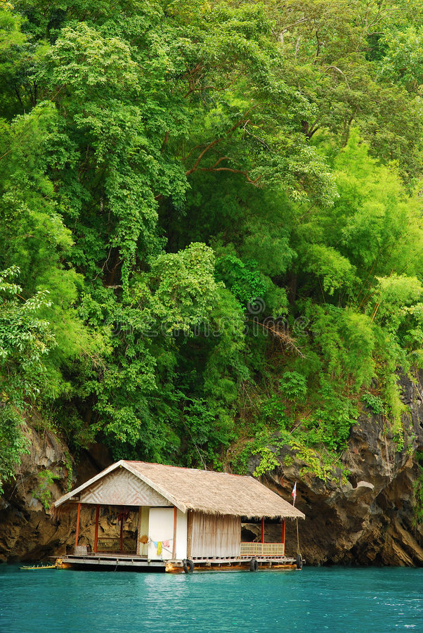 Download Raft house stock photo. Image of floating, nature, house - 8723726