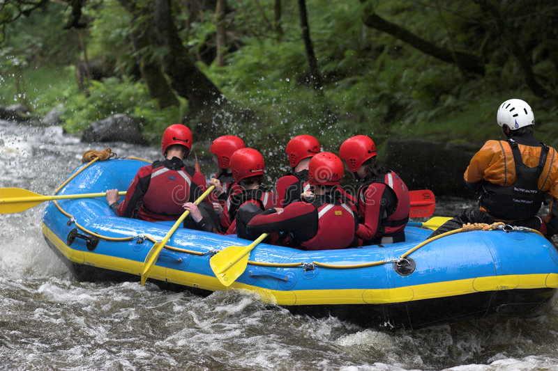 Download Raft rear stock photo. Image of floating, recreation, raft - 1274064
