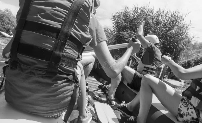 rafting foto de archivo