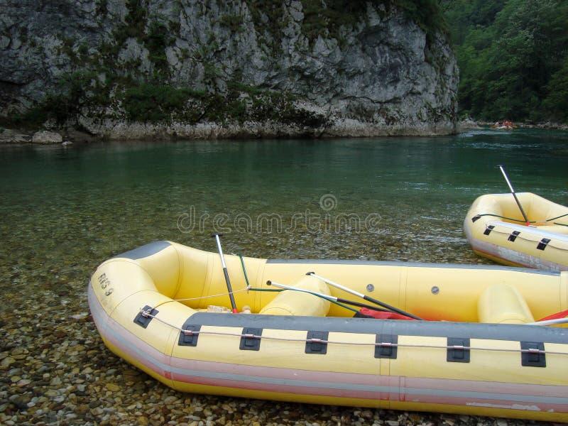 Rafting. On Neretva river, Bosnia and Herzegovina royalty free stock image
