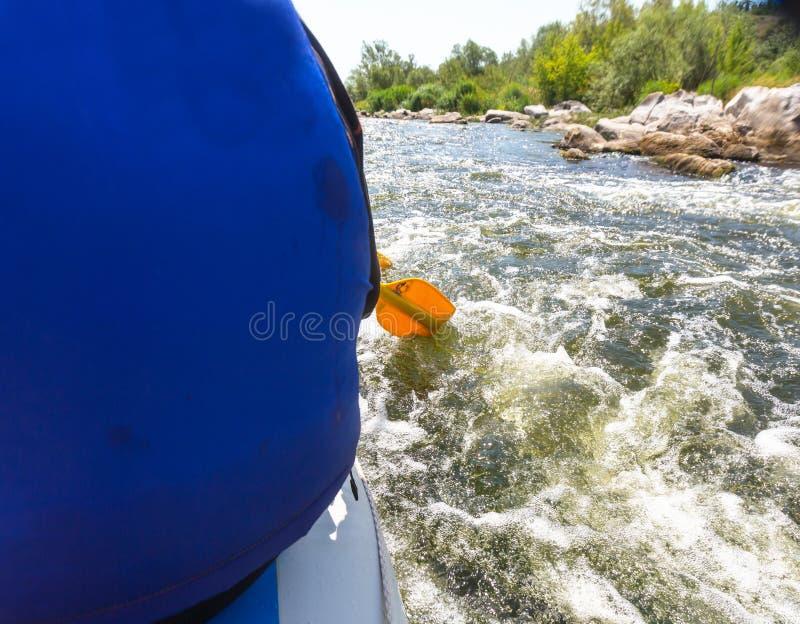 rafting foto de archivo libre de regalías