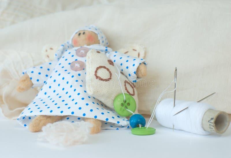 Download Rag-doll stock image. Image of needle, soft, yarn, children - 21008581