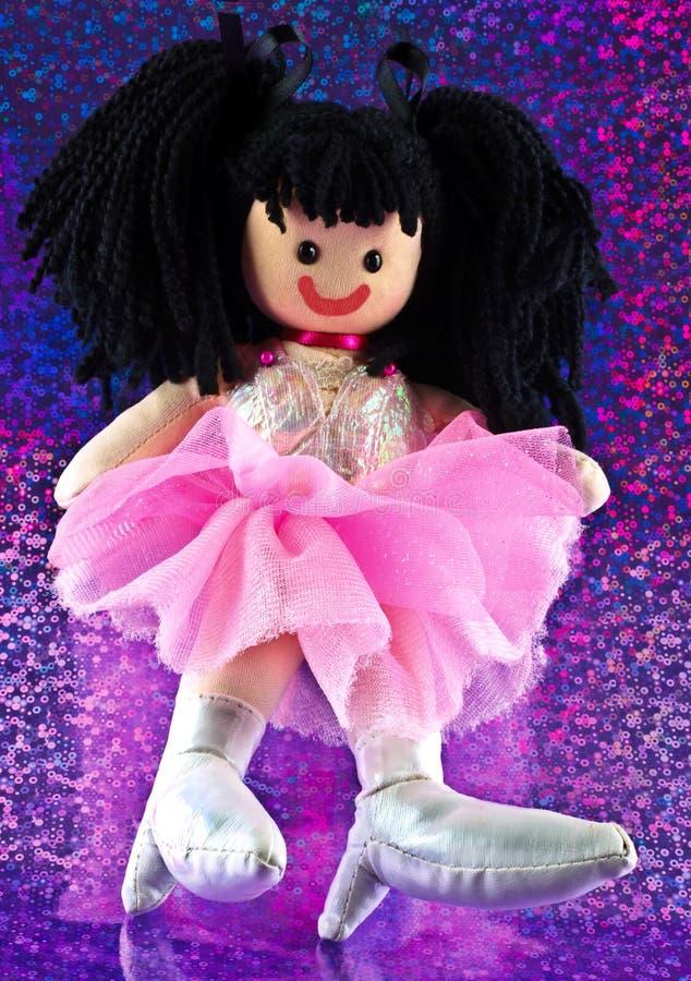 cute rag doll stock image