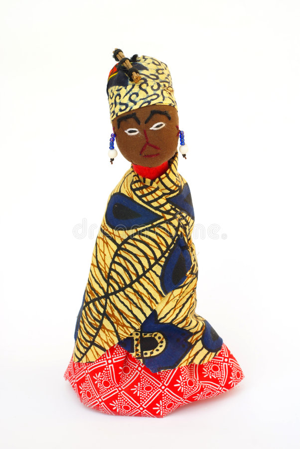 Rag doll from Swaziland