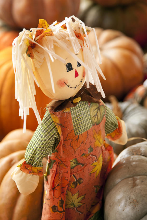 Download Rag Doll Thanksgiving Halloween Autumn Stock Photo - Image: 11365512