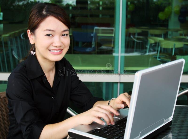 Ragazza asiatica immagini stock