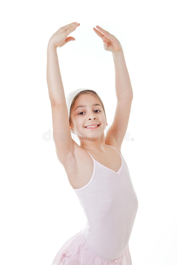 Ragazza che balla balletto classico fotografia stock
