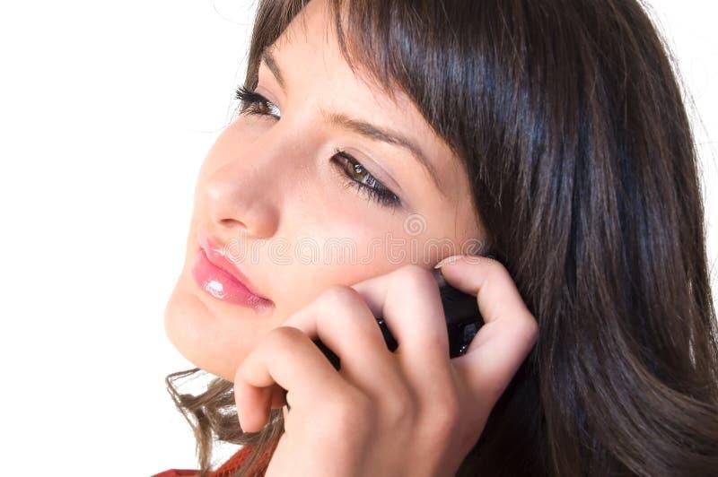 Download Ragazza Con Il Telefono Mobile Immagine Stock - Immagine di ragazza, sexy: 3888827