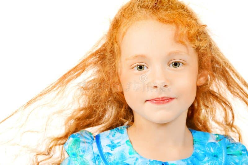 Ragazza dai capelli rossa fotografie stock