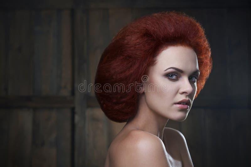 Ragazza dai capelli rossi immagini stock