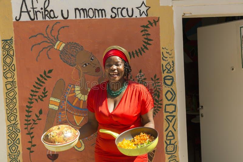 Ragazza dall'Africa occidentale fotografia stock libera da diritti