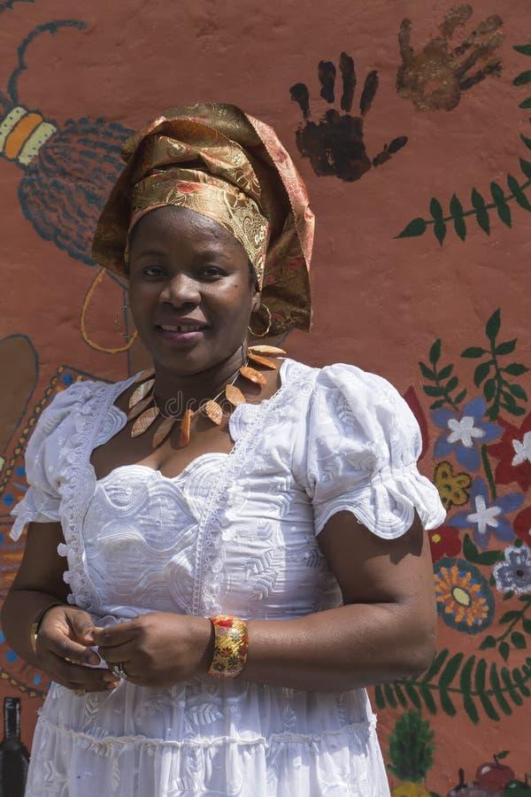 Ragazza dalla Nigeria fotografie stock libere da diritti