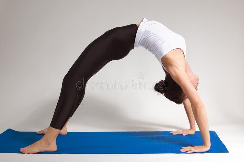 Ragazza del Yogi immagini stock libere da diritti