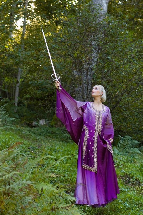 Ragazza dell'elfo immagini stock libere da diritti
