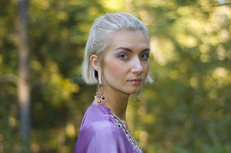 Ragazza dell'elfo fotografia stock libera da diritti