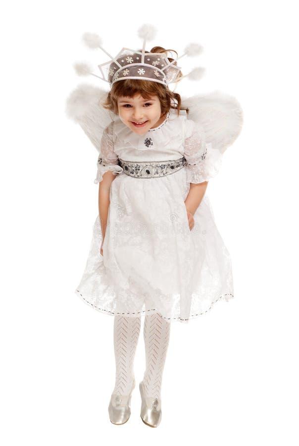 Ragazza di angelo immagine stock