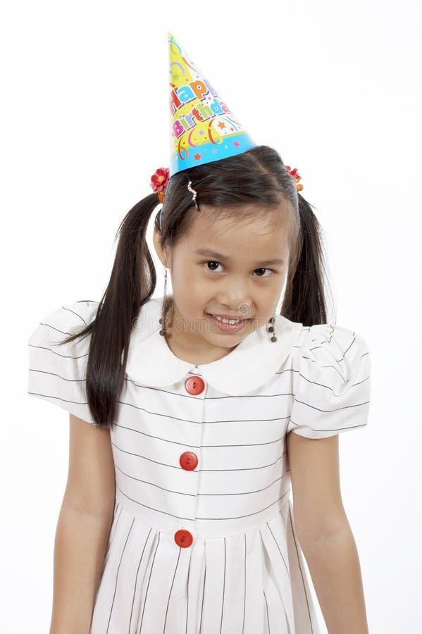 Ragazza di compleanno fotografie stock libere da diritti