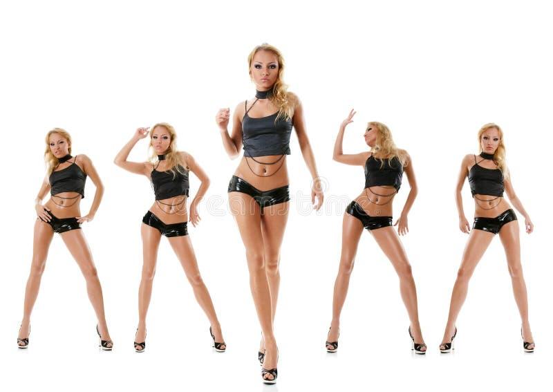 Ragazza di Dancing fotografia stock libera da diritti