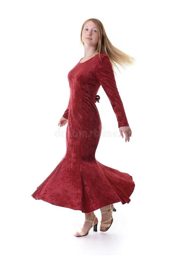Ragazza di Dancing immagini stock