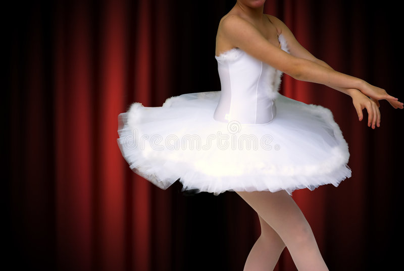 Ragazza di Dancing fotografia stock