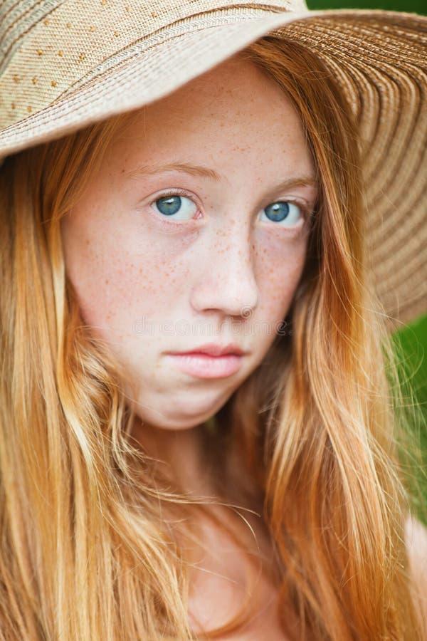 Ragazza di estate fotografia stock libera da diritti