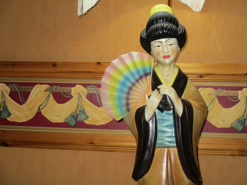 Ragazza di geisha immagine stock