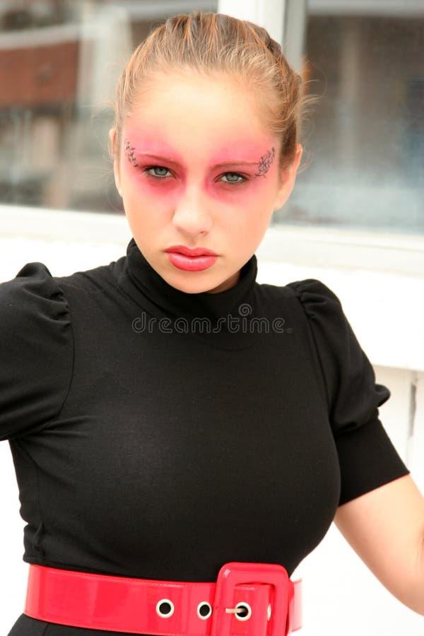 Ragazza di Goth immagini stock libere da diritti