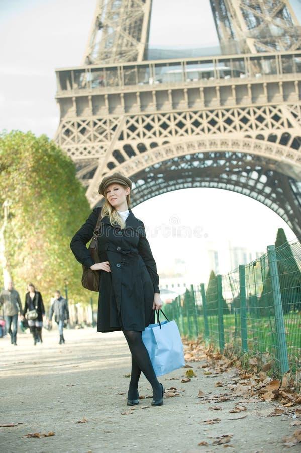Ragazza di Parigi immagini stock libere da diritti