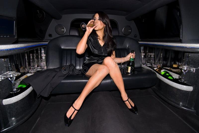 Ragazza di partito sexy. fotografie stock libere da diritti