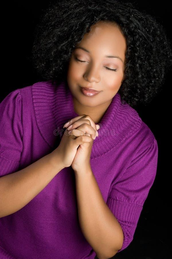 Ragazza di preghiera immagini stock libere da diritti