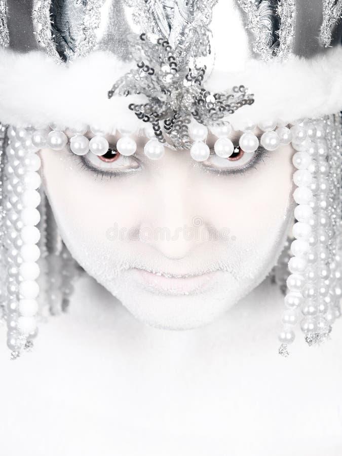 Download Ragazza Diabolica Di Inverno Immagine Stock - Immagine di fairy, occhio: 7306999