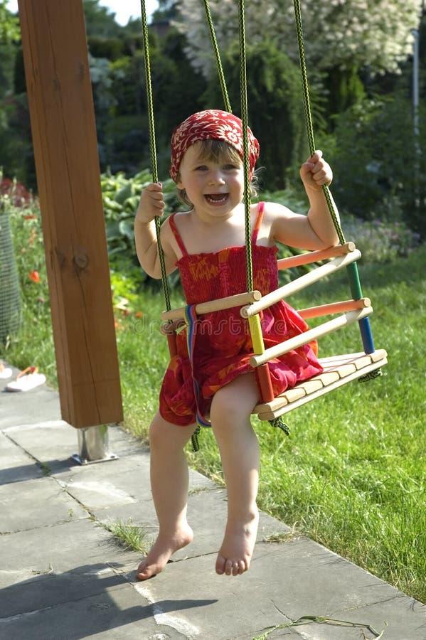 ragazza felice fotografie stock libere da diritti