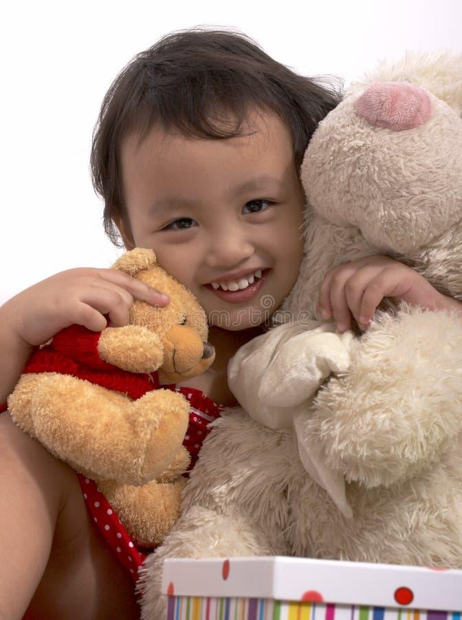Ragazza felice del bambino immagini stock libere da diritti