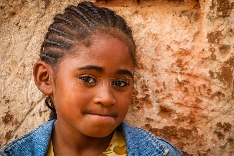 Ragazza malgascia immagini stock libere da diritti
